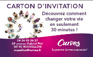 Curves - CARTON D'INVITATION